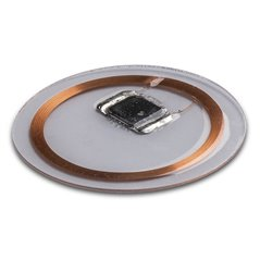 Clear Disc HF ISO14443 Mifare Classic 1K (4 byte non-UID) 25 mm
