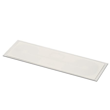 Inlay UHF LABEL WHITE PET RECT 92/28MM - UHF MR6-P White PET overlay on top Antenna RECT 88/24 mm