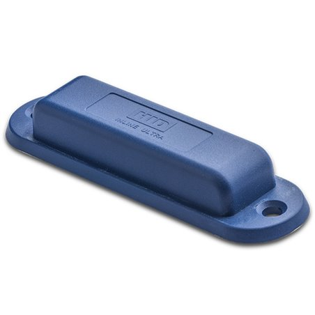 InLine Tag™ Ultra - Ultra (flat, 2 holes) UHF 865-928 MHz, Imping M4QT Blue HID logo - PC/ABS
