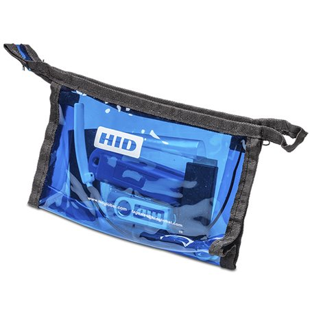 Tag Sample Kit Blue (US) Selection of I&L tags (LF, HF, UHF) (US) - 902-928 MHz (FCC) (for single frequency UHF tags)